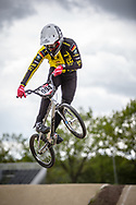 #994 (SCHMIDT Julian) GER during practice at Round 3 of the 2019 UCI BMX Supercross World Cup in Papendal, The Netherlands