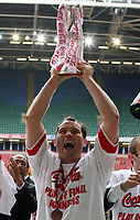 Photo: Rich Eaton.<br /> <br /> Grimsby Town v Cheltenham Town. Coca Cola League 2. Play off Final. 28/05/2006. Scorer of Cheltenhams only goal Steve Guinan