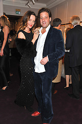 ALICE TEMPERLEY and LARS VON BENNIGSEN at a party to celebrate thelaunch of Alice Temperley's flagship store Temperley, Bruton Street, London on 6th December 2012.