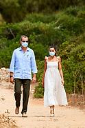 081320 Spanish Royals visit Menorca, Naveta des Tudons