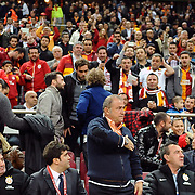 Galatasaray's coach Fatih Terim during their Turkish Superleague soccer match Galatasaray between SB Elazigspor at the AliSamiYen Spor Kompleksi at Aslantepe in Istanbul Turkey on Friday 19 April 2013. Photo by TURKPIX