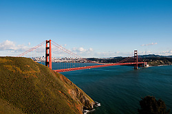 Marin Headlands; sightseeing; Golden Gate Bridge, San Francisco, California, USA.  Photo copyright Lee Foster.  Photo # california108845