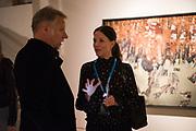 EDWARD BURTYNSKY; JULIA JANE JOHNSTON, Opening of Photo London, 2018. Somerset House. London. 16 May 2018