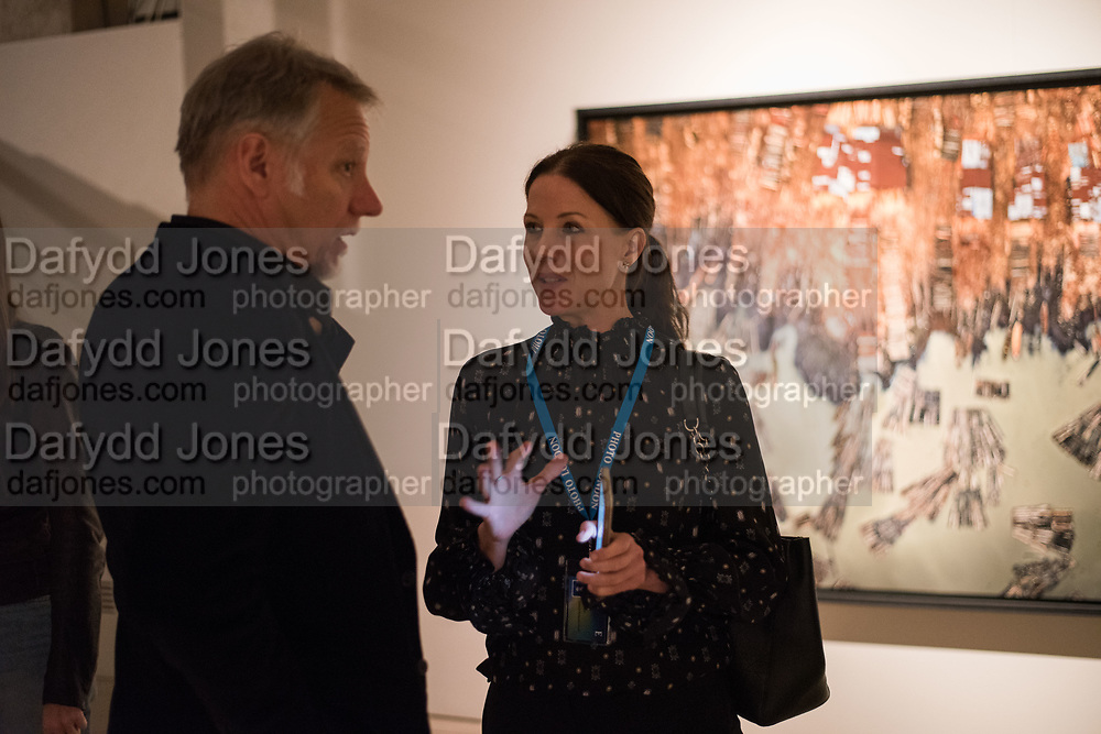 EDWARD BURTYNSKY; JULIA JANE JOHNSTON, Opening of Photo London, 2018. Somerset House. London. 16 May 2018