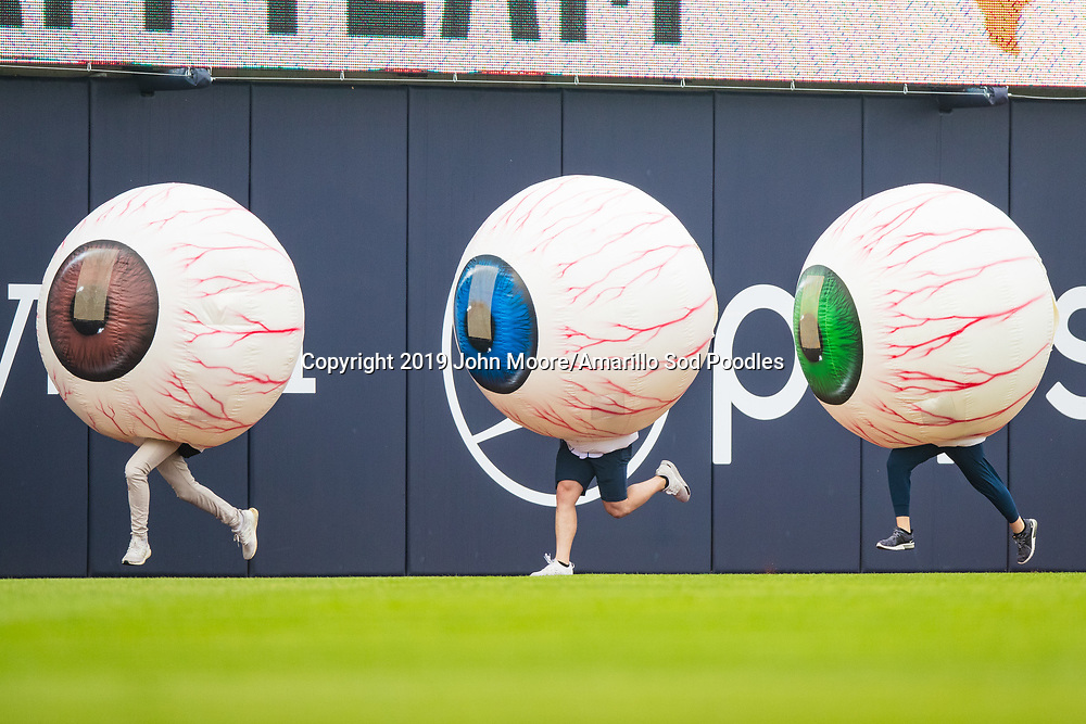 The Amarillo Sod Poodles played against the Midland RockHounds on Sunday, May 26, 2019, at HODGETOWN in Amarillo, Texas. [Photo by John Moore/Amarillo Sod Poodles]