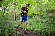 Photographs of the 2016 Thunderbunny 50k Ultramarathon. This was the first ultramarathon to be held in Athens County. The Thunderbunny 50k also featured a 25k and a 12k event on May 14, 2016.<br /> <br /> [Photograph by Joel Prince]