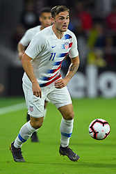 March 21, 2019 - Orlando, Florida, USA - US forward Jordan Morris (11) during an international friendly between the US and Ecuador at Orlando City Stadium on March 21, 2019 in Orlando, Florida. .The US won the game 1-0...©2019 Scott A. Miller. (Credit Image: © Scott A. Miller/ZUMA Wire)