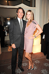 TIM & MALIN JEFFERIES at a dinner hosted by Vogue in honour of photographer David Bailey at Claridge's, Brook Street, London on 11th May 2010.