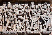 Shatrunjaya temples carvings in Palitana (Gujarat, India)