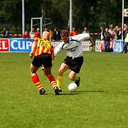 Finale Amstelcup amateurs 2004, VV Sneek - Ter Leede,