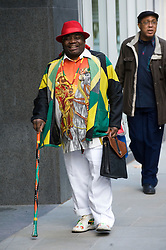 © Licensed to London News Pictures. 16/11/2011. London, UK. Tony Bailey outside the The Royal Courts Of Justice today (16/11/2011) where he is suing his former friend Levi Roots  for more than £300,000 over claims the musician ran off with his coveted recipe, breaking an agreement to share the profits. Photo credit: Ben Cawthra/LNP