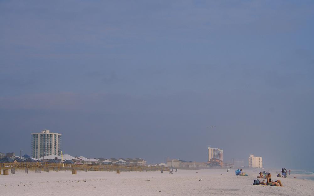 Pensacola Beach In December