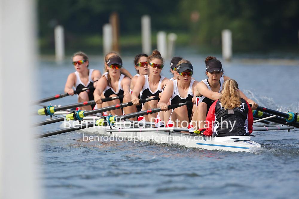 Lady Eleanor Holles School <br /> <br /> Junior 8+  Time Trial<br /> <br /> Henley Women's Regatta 2021<br /> Saturday