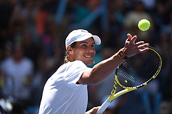Rafael Nadal (SPA) during Kid's day at the 2019 US Open at Billie Jean National Tennis Center in New York City, NY, USA, on August 24, 2019. Photo by Corinne Dubreuil/ABACAPRESS.COM