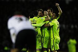 Rajiv van La Parra (C) of Brighton & Hove Albion celebrates scoring his sides second goal  - Mandatory byline: Jack Phillips / JMP - 07966386802 - 12/12/2015 - FOOTBALL - The iPro Stadium - Derby, Derbyshire - Derby County v Brighton & Hove Albion - Sky Bet Championship