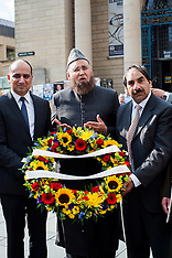 2013-05-31_Federation of Mosques Lay Wreath For Drummer Lee Rigby Sheffield