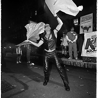 The newest Olympic sport discovered on the streets of Greenwich Village, during Halloween, in NYC.