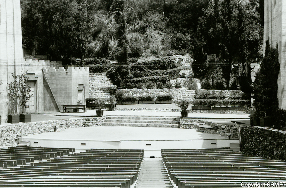 1973 Pilgrimage Play Theater. Now known as the John Anson Ford Theater