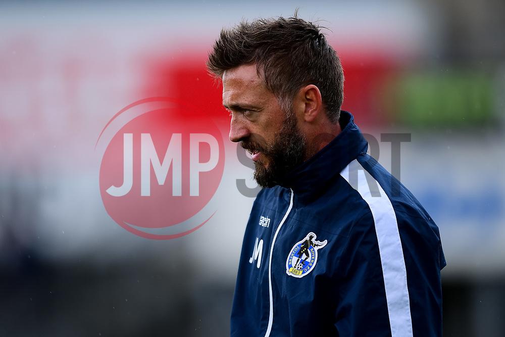 Bristol Rovers assitant manager Jack Mesure - Mandatory by-line: Ryan Hiscott/JMP - 28/08/2020 - FOOTBALL - Memorial Stadium - Bristol, England - Bristol Rovers v Cardiff City - Pre Season Friendly