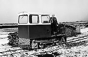 A snowy scene from the Bord na Mona works at Littleton, Co Tipperary.<br /> 19/02/1973