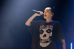 July 3, 2018 - Milwaukee, Wisconsin, U.S - BISHOP BRIGGS (SARAH GRACE MCLAUGHLIN) during Summerfest Music Festival at Henry Maier Festival Park in Milwaukee, Wisconsin (Credit Image: © Daniel DeSlover via ZUMA Wire)