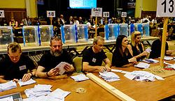 General Election 2017 Dumfries Count :: The count gets underway.<br /> <br /> <br /> (c) Andrew Wilson | Edinburgh Elite media