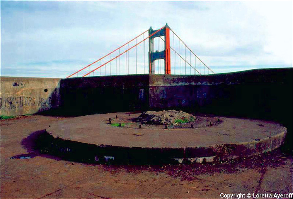 Bunkers, Marin County, CA: A large portfolio of CA Ruins was published in California Magazine, 1982. This is the director's cut.
