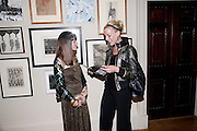 NATASHA KISSELL; AMANDA NEAL, No New Thing Under the Sun. Royal Academy. Piccadilly. London. 20 OCTOBER 2010. -DO NOT ARCHIVE-© Copyright Photograph by Dafydd Jones. 248 Clapham Rd. London SW9 0PZ. Tel 0207 820 0771. www.dafjones.com.