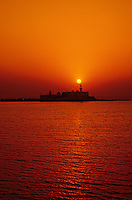Sunset, Haji Ali Mosque, Mumbai (Bombay), Maharashtra, India