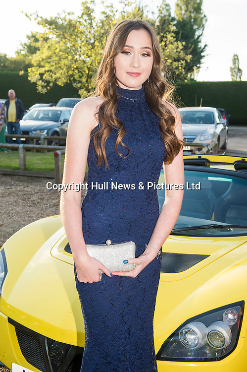 27 June 2019: Somercotes Academy Year 11 prom at the Brackenborough Hotel near Louth.<br /> Holly Thomas.<br /> Picture: Sean Spencer/Hull News & Pictures Ltd<br /> 01482 210267/07976 433960<br /> www.hullnews.co.uk         sean@hullnews.co.uk