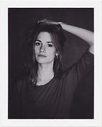 Polaroid of actress Danica Curcic shot by HEIN Photography