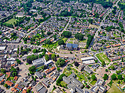 Nederland, Overijssel, Gemeente Dinkelland, 21–06-2020; zicht op Losser, Oost-Nederland, Twente nabij de grens met Duitsland.<br /> View of Losser, East Netherlands, Twente near the border with Germany.<br /> luchtfoto (toeslag op standaard tarieven);<br /> aerial photo (additional fee required)<br /> copyright © 2020 foto/photo Siebe Swart