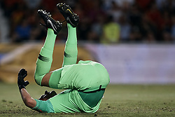 September 11, 2018 - Elche, Alicante, Spain - Lovre Kalinic of Croatia reacts on the pitch during the UEFA Nations League A group four match between Spain and Croatia at Manuel Martinez Valero on September 11, 2018 in Elche, Spain  (Credit Image: © David Aliaga/NurPhoto/ZUMA Press)