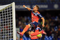joie  Anthony MOUNIER  - 24.01.2015 - Montpellier / Nantes  - 22eme journee de Ligue1<br />Photo : Nicolas Guyonnet / Icon Sport