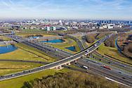 Nederland, Utrecht, 20190214<br /> Verkeersknooppunt Oudenrijn vanuit de lucht.<br /> <br /> <br /> Foto (c) Michiel Wijnbergh
