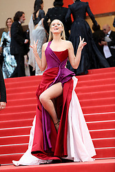 """CANNES - MAY 18: Premiere of """" Les Plus Belles Annees D'une Vie """" during the 2019 Cannes Film Festival on May 18, 2019 at Palais des Festivals in Cannes, France. CAP/MPI/IS ©IS/MPI/Capital Pictures. 18 May 2019 Pictured: Toni Garrn. Photo credit: IS/MPI/Capital Pictures / MEGA TheMegaAgency.com +1 888 505 6342"""