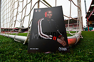 Front cover of the Bournemouth matchday programme featuring Nathaniel Clyne before the Premier League match between Bournemouth and West Ham United at the Vitality Stadium, Bournemouth, England on 19 January 2019.