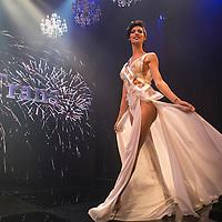 Ta'alin Abu Hana wins the Miss Trans Israel pageant, Tel Aviv. May 27, 2016. Photo by Michal Fattal