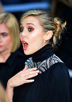 OIC - ENTSIMAGES.COM - Elizabeth Olsen  at The Avengers: Age of Ultron - European Film Premiere at Vue Westfield, Westfield Shopping Centre in London, England. 21st April 2015.          Photo Ents Images/OIC 0203 174 1069