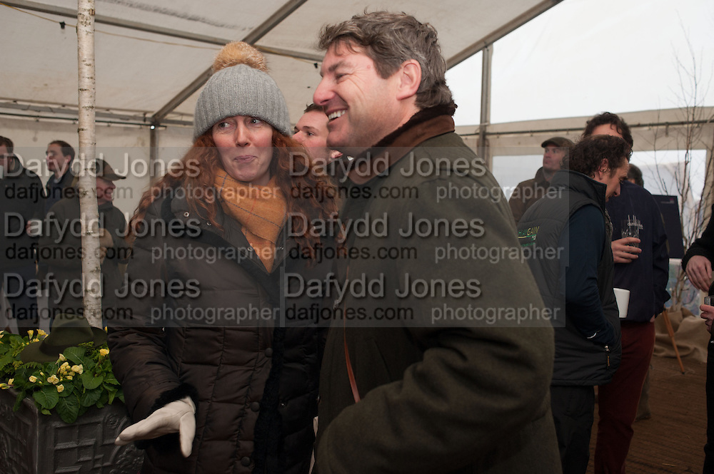 REBEKAH BROOKS; CHARLIE BROOKS, Heythrop Point to Point. At a  new course at Cocklebarrow near Aldsworth. 11 January 2014