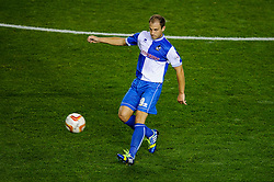Bristol Rovers Defender Mark McChrystal (NIR) in action during the first half of the match - Photo mandatory by-line: Rogan Thomson/JMP - Tel: 07966 386802 - 04/09/2013 - SPORT - FOOTBALL - Ashton Gate, Bristol - Bristol City v Bristol Rovers - Johnstone's Paint Trophy - First Round - Bristol Derby