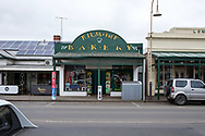 A view of the Kilmore Bakery which has seen a steep downturn in revenue during restrictions during COVID-19 in Kilmore, Australia. An outbreak which started in Chadstone in Melbourne, has spread as far as Benalla. Twenty-eight people linked to the outbreak have now tested positive for COVID-19. There are now two confirmed cases in Kilmore linked with a Melbourne Resident who carried the virus into the town. The person visited the Odd Fellows Cafe in Kilmore which lead to him spreading the virus to a staff member, and a customer. The cafe has been closed for deep cleaning and will remain closed until the 19th October. (Photo by Dave Hewison/Speed Media)