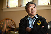 Mayoral candidate and state Senator Bob Hasegawa photographed at his Seattle home on Monday, May 8, 2017.<br /> (Matt Mills McKnight/Cascade Public Media)