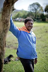 Horildo Francisco Antonio, 59, um dos integrantes da associação de quilombolas de Morro Alto, no municipio de Maquiné, no interior do Rio Grande do Sul. FOTO: Jefferson Bernardes / Preview.com