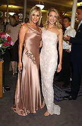 Left to right, JENNI FALCONER and Singer SUMMER WATSON at a charity event 'In The Pink' a night of music and fashion in aid of the Breast Cancer Haven in association with fashion designer Catherine Walker held at the Cadogan Hall, Sloane Terrace, London on 20th June 2005.<br /><br />NON EXCLUSIVE - WORLD RIGHTS