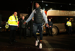 Paul Pogba of Manchester United arrives at Ashton Gate for the Carabao Cup Quarter Final tie with Bristol City - Mandatory by-line: Robbie Stephenson/JMP - 20/12/2017 - FOOTBALL - Ashton Gate Stadium - Bristol, England - Bristol City v Manchester United - Carabao Cup Quarter Final