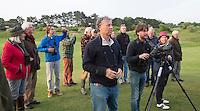 ZANDVOORT -  Floris Jan Bovelander . Birdwatching - Vogelteldag   op de Kennemer Golf & Country Club. Een natuurvriendelijk en milieubewust beheerd golfterrein biedt voor de golfer een interessante en uitdagende omgeving en bevordert de beeldvorming van de golfsport als een 'groene' sport.  Het beleid kent drie programma's: Committed to Green, Golfers love Birdies en Green Deal. COPYRIGHT KOEN SUYK