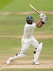 South Africa's Hashim Amla in action during The First npower Test match at Lord's Cricket Ground, London.