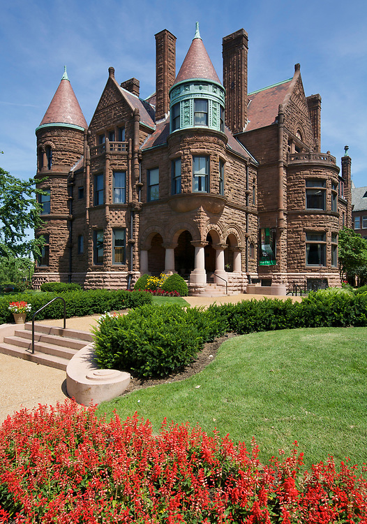 Cupples House is a historic mansion in St. Louis, Missouri, constructed by Samuel Cupples, a wealthy businessman. It is now a museum on the campus of Saint Louis University. The house is designed in the Richardsonian Romanesque architectural style.