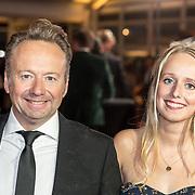 NLD/Amsterdam/20171012 - Televizier-ring Gala 2017, Joris Linssen en dochter Lorena